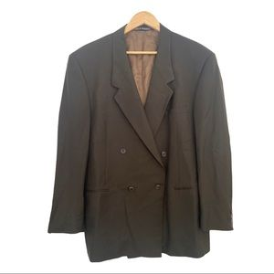 VERSACE V2 Mens Jacket Double Breasted Blazer m